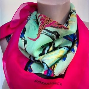 Rosabotanica multicolored limited edition Scarf
